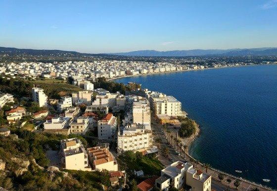 Курорт Лутраки в Греции